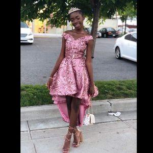 Dresses & Skirts - HALFUP/DOWN OFFSHOULDER SWEETHEART NECK PROM DRESS